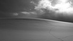 真冬の曲線美(Monochrome)