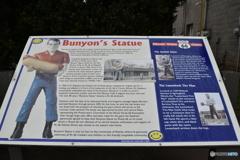 Bunyon's Statue解説