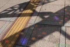 色つきの影