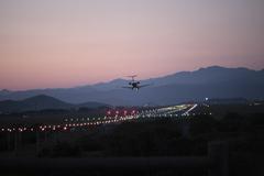 着陸。龍馬空港。