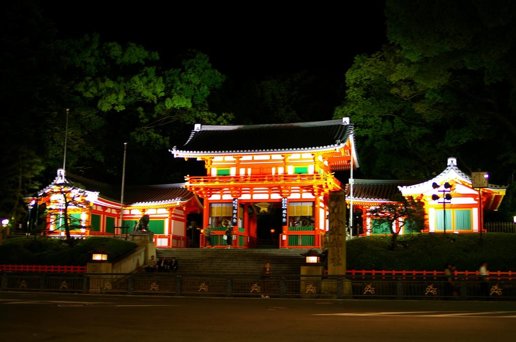 八坂神社、定点観測。