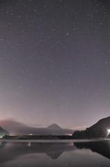 精進湖の星(満天)
