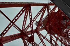 Tokyo tower 下から!