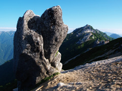 夏秋の燕岳にて(Scene13/40)