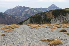 双六岳から笠ヶ岳