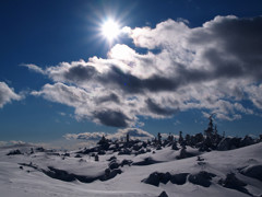冬の北横岳にて(Scene15/40)