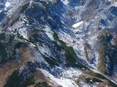 初雪の斜面(2)