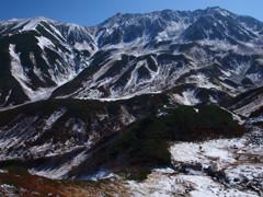 初雪の立山