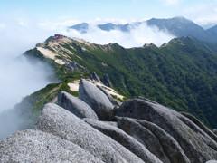 夏秋の燕岳にて(Scene24/40)