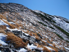 初雪の斜面(1)