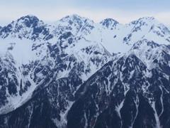 GWの穂高岳