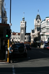 Railway Station of Dunedin