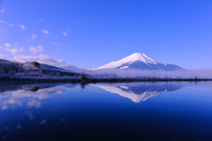 Reflection Mt.Fuji