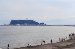梅雨の江ノ島