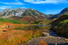 みどりが池の秋