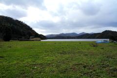 菅湖・初冬