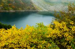 みぐりが池と黄葉