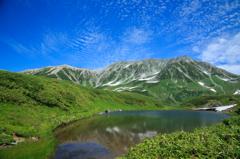 みどりが池と雄山