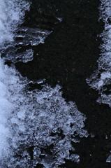 Melting snow