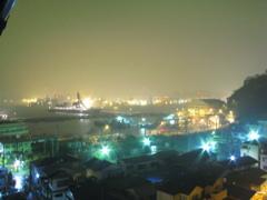 イージス艦の夜