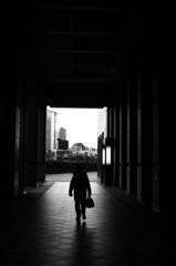 恵比寿の通路