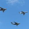 C-1とU-4の編隊飛行