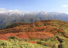 赤兎山より白山