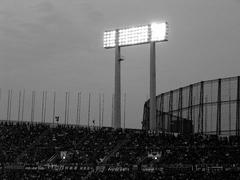 National Stadium(モノクロ)