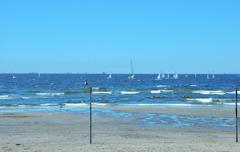 稲毛海岸。