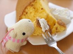 カピバラ・シフォンケーキ