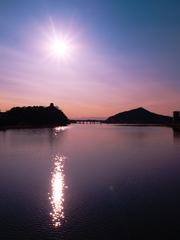 おおみそかの木曽川