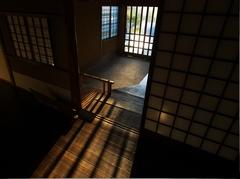 川上別荘にて