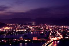高知市の夜景