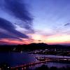 五台山の黄昏時