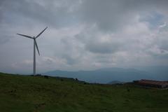 四国カルスト 風車