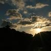 三渓園の夕景