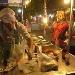 KKU night market (Khon Kaen University)