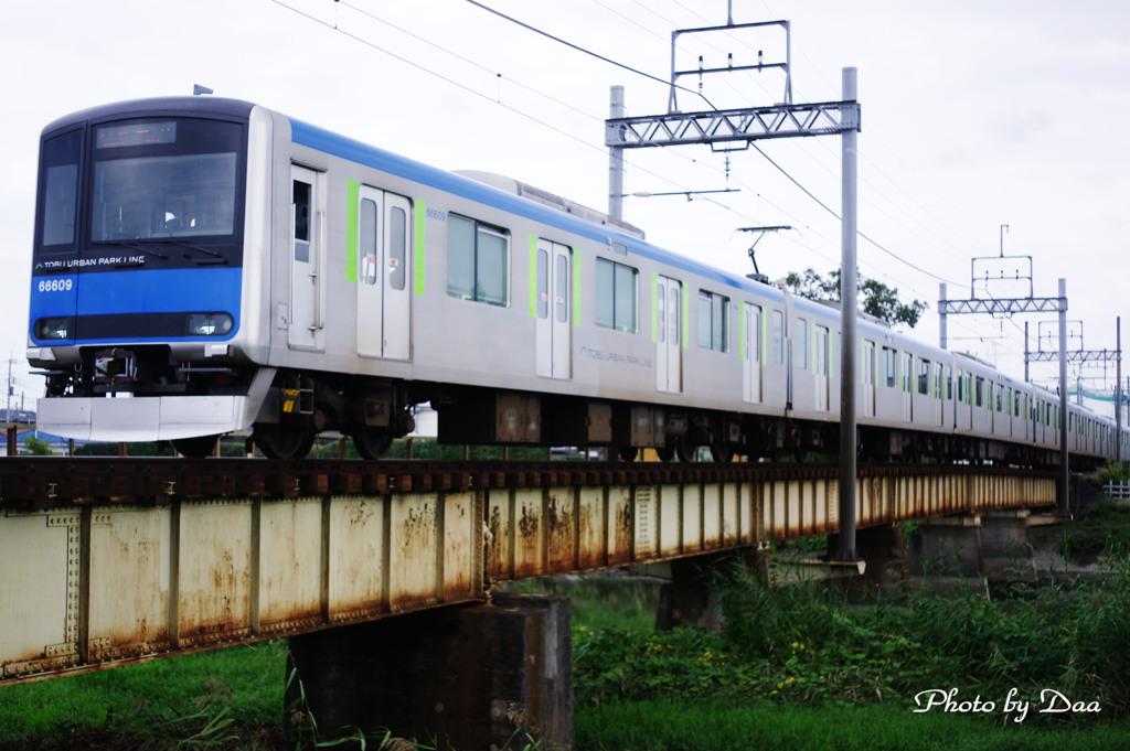 東武野田線古利根川鉄橋