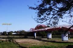 河川歩道橋