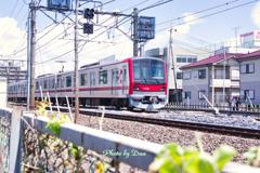 真夏の東武鉄道