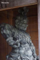 成就院の金剛力士像吽形(その2)