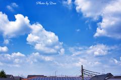 雷雨の前の雲 Ⅰ