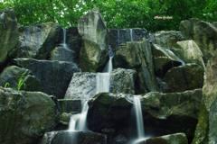 公園の滝(その1)