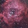 光害地で撮る天体―薔薇星雲(露光10時間)