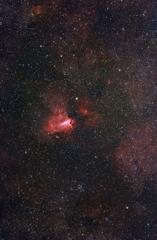 光害地で撮る天体―オメガ星雲