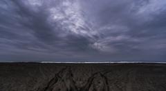 海への足跡  2