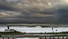 雨上がりの海岸 2