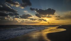 夕陽が広がる空 2