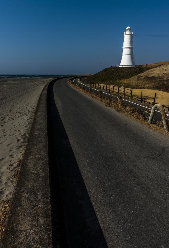 天竜川河口の灯台