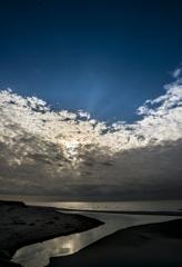 うろこ雲の空の下 2